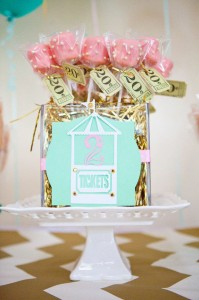 Cupcakes and Carousels 2nd Birthday Party via Kara's Party Ideas | Kara'sPartyIdeas.com #cupcake #carousel #birthday #party (14)