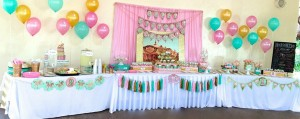 Cupcakes and Carousels 2nd Birthday Party via Kara's Party Ideas | Kara'sPartyIdeas.com #cupcake #carousel #birthday #party (21)