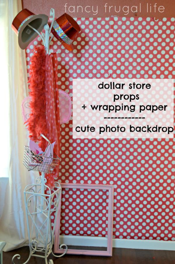 Kara 39 s party ideas budget friendly olivia the pig for Party backdrop ideas