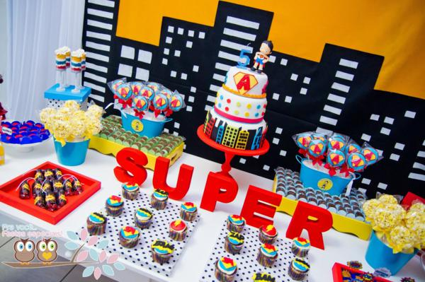 Superhero Birthday Party via Kara's Party Ideas | KarasPartyIdeas.com #superhero #super #hero #spiderman #superman #party #ideas (28)