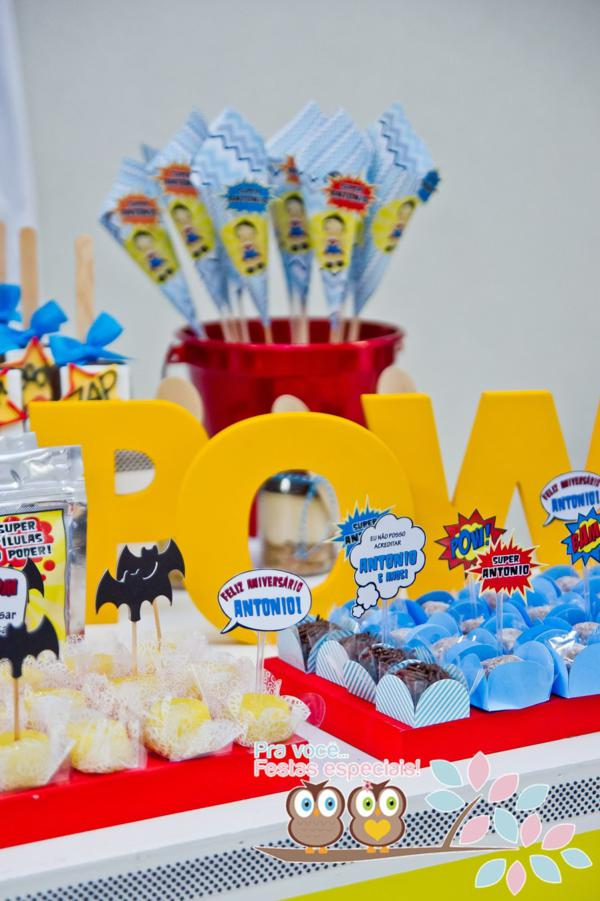 Superhero Birthday Party via Kara's Party Ideas | KarasPartyIdeas.com #superhero #super #hero #spiderman #superman #party #ideas (23)