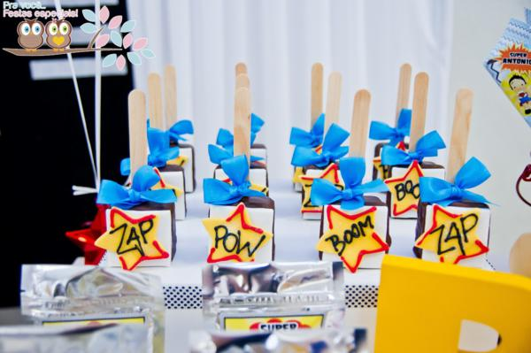 Superhero Birthday Party via Kara's Party Ideas | KarasPartyIdeas.com #superhero #super #hero #spiderman #superman #party #ideas (21)