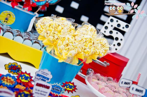 Superhero Birthday Party via Kara's Party Ideas | KarasPartyIdeas.com #superhero #super #hero #spiderman #superman #party #ideas (15)