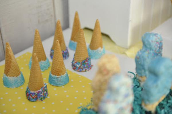 Summer Ice Cream Party via Kara's Party Ideas | KarasPartyIdeas.com #summer #ice #cream #blue #party #ideas (28)