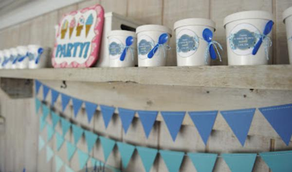 Summer Ice Cream Party via Kara's Party Ideas | KarasPartyIdeas.com #summer #ice #cream #blue #party #ideas (26)