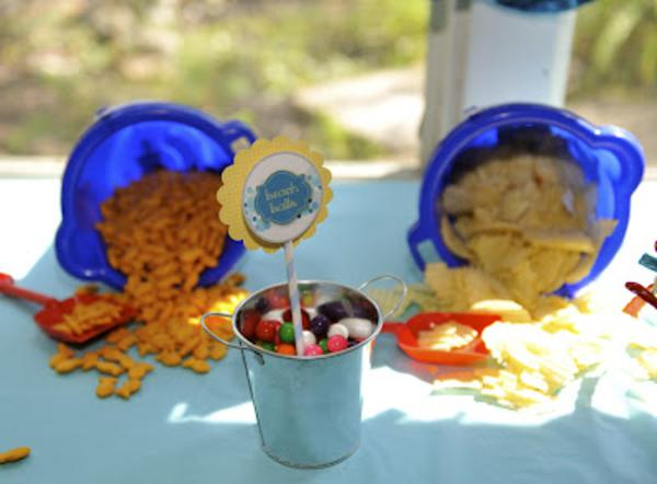 Summer Ice Cream Party via Kara's Party Ideas | KarasPartyIdeas.com #summer #ice #cream #blue #party #ideas (21)