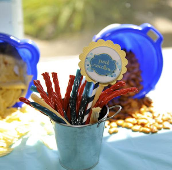 Summer Ice Cream Party via Kara's Party Ideas | KarasPartyIdeas.com #summer #ice #cream #blue #party #ideas (20)