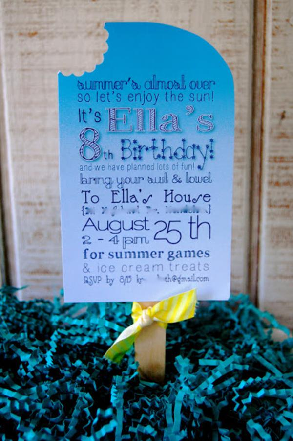Summer Ice Cream Party via Kara's Party Ideas | KarasPartyIdeas.com #summer #ice #cream #blue #party #ideas (15)