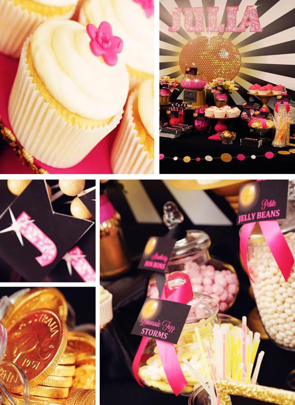 Karas Party Ideas Disco Glam Birthday Party Planning Ideas Supplies