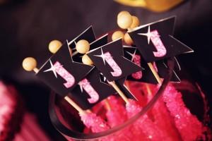 Disco Glam 12th Birthday Party via Kara's Party Ideas| Kara'sPartyIdeas.com #disco #glam #birthday #party (20)