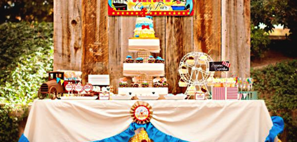 Donald Duck COUNTY FAIR Themed Birthday Party Via Karas Ideas KarasPartyIdeas