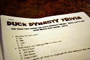 Duck Dynasty Themed Party via Kara's Party Ideas | Kara'sPartyIdeas.com #duck #dynasty #themed #party (7)