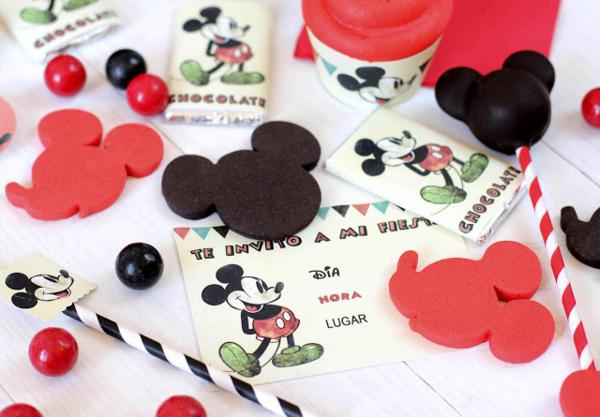 Vintage Mickey Mouse Party via Kara's Party Ideas | KarasPartyIdeas.com #disney #vintage #mickey #mouse #party #ideas    </p>   <p style=