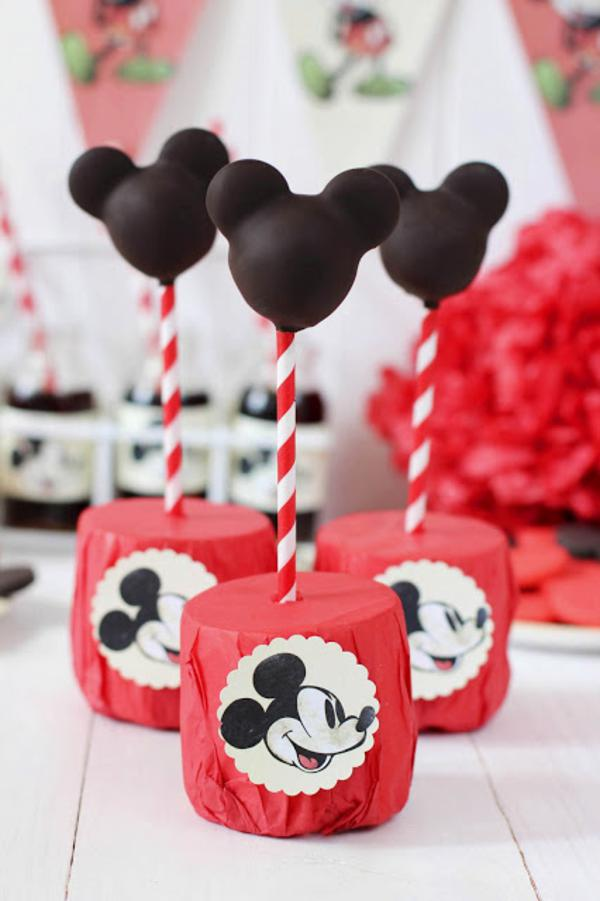 Vintage Mickey Mouse Party via Kara's Party Ideas | KarasPartyIdeas.com #disney #vintage #mickey #mouse #party #ideas (11)