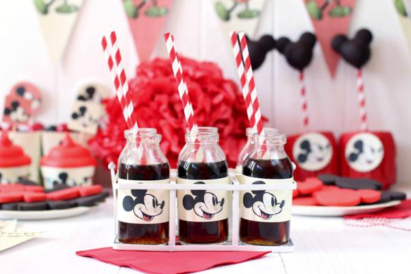 Vintage Mickey Mouse Party via Kara's Party Ideas | KarasPartyIdeas.com #disney #vintage #mickey #mouse #party #ideas  </strong>