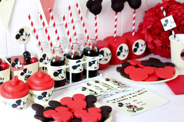 Vintage Mickey Mouse Party via Kara's Party Ideas | KarasPartyIdeas.com #disney #vintage #mickey #mouse #party #ideas  <p>