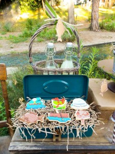 Fisherman Fishing themed birthday party via Kara's Party Ideas KarasPartyIdeas.com #fishing #boy #dad #themed #birthday #party #idea #father's #day #ideas-1