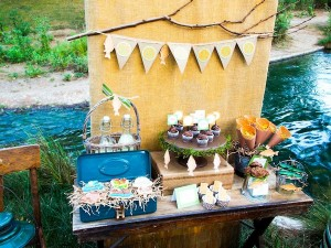 Fisherman Fishing themed birthday party via Kara's Party Ideas KarasPartyIdeas.com #fishing #boy #dad #themed #birthday #party #idea #father's #day #ideas-13