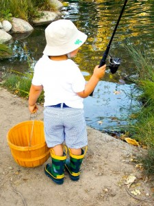 Fisherman Fishing themed birthday party via Kara's Party Ideas KarasPartyIdeas.com #fishing #boy #dad #themed #birthday #party #idea #father's #day #ideas-14