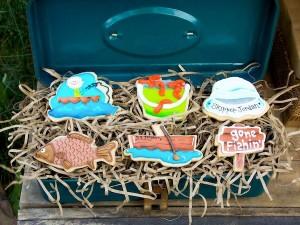 Fisherman Fishing themed birthday party via Kara's Party Ideas KarasPartyIdeas.com #fishing #boy #dad #themed #birthday #party #idea #father's #day #ideas-18