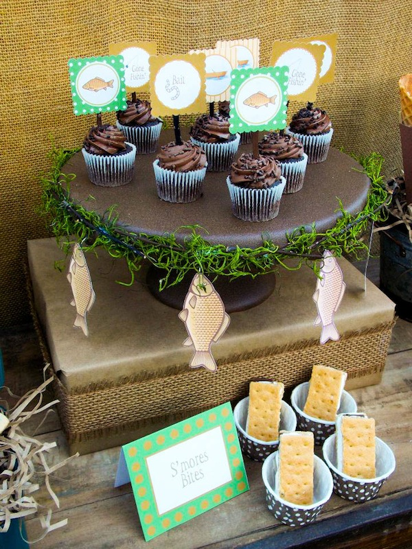 Kara S Party Ideas Gone Fishing Boy Themed Party Planning