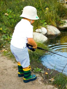 Fisherman Fishing themed birthday party via Kara's Party Ideas KarasPartyIdeas.com #fishing #boy #dad #themed #birthday #party #idea #father's #day #ideas-20