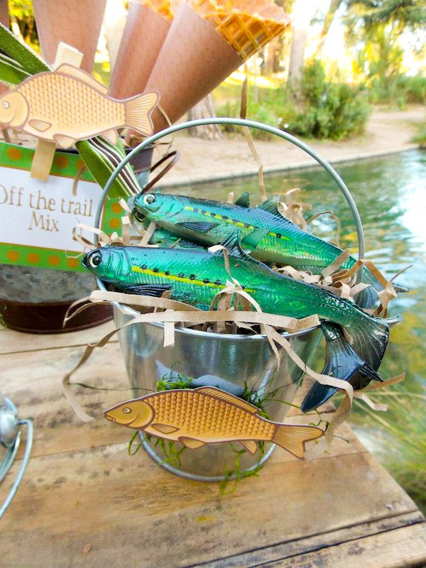 Kara 39 S Party Ideas Gone Fishing Boy Themed Party Planning