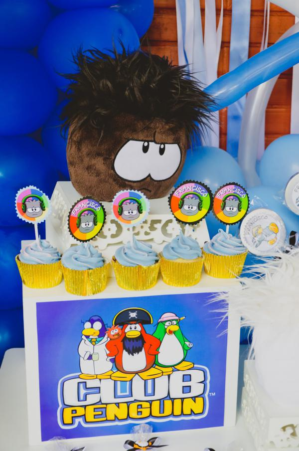 Disney's Club Penguin Party via Kara's Party Ideas | KarasPartyIdeas.com #disney #club #penguin #party #ideas (17)