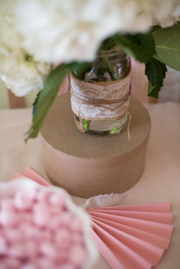 Shabby Chic Party via Kara's Party Ideas | KarasPartyIdeas.com #shabby #chic #girl #party #wedding #ideas (29)