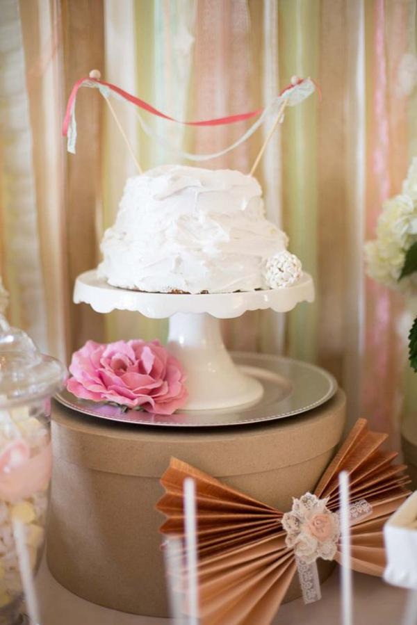 Shabby Chic Party via Kara's Party Ideas | KarasPartyIdeas.com #shabby #chic #girl #party #wedding #ideas (28)