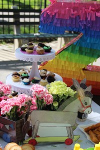 Vintage Birthday Parade Party via Kara's Party Ideas | KarasPartyIdeas.com #vintage #birthday #parade #party #ideas (10)
