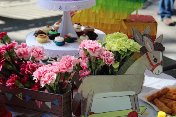 Vintage Birthday Parade Party via Kara's Party Ideas | KarasPartyIdeas.com #vintage #birthday #parade #party #ideas (9)
