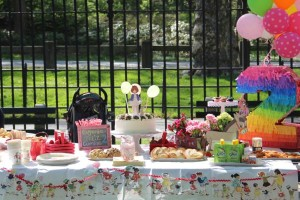 Vintage Birthday Parade Party via Kara's Party Ideas | KarasPartyIdeas.com #vintage #birthday #parade #party #ideas (3)