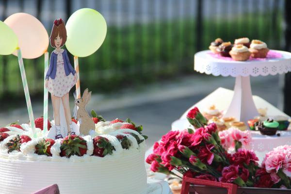 Vintage Birthday Parade Party via Kara's Party Ideas | KarasPartyIdeas.com #vintage #birthday #parade #party #ideas (1)