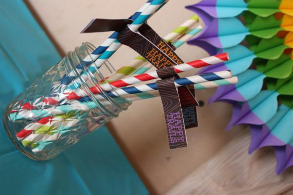 Camp Arts and Crafts Rainbow Party via Kara's Party Ideas | KarasPartyIdeas.com #camp #arts #crafts #rainbow #party #ideas (43)