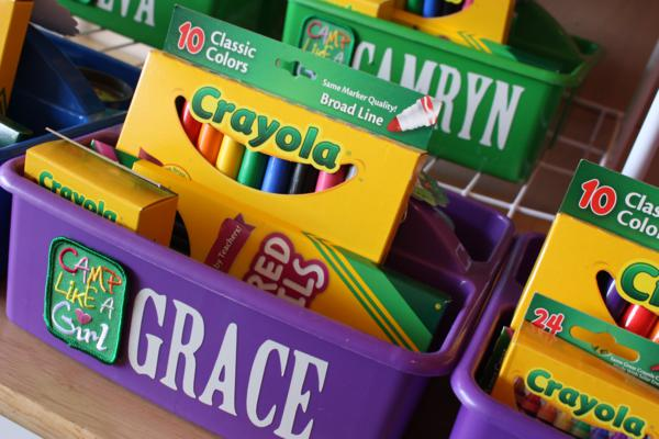 Camp Arts and Crafts Rainbow Party via Kara's Party Ideas | KarasPartyIdeas.com #camp #arts #crafts #rainbow #party #ideas (41)