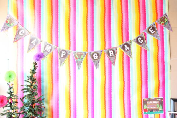 Camp Arts and Crafts Rainbow Party via Kara's Party Ideas | KarasPartyIdeas.com #camp #arts #crafts #rainbow #party #ideas (39)