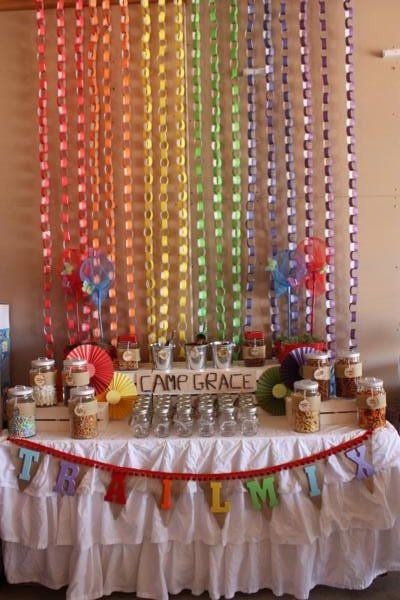 Camp Arts and Crafts Rainbow Party via Kara's Party Ideas | KarasPartyIdeas.com #camp #arts #crafts #rainbow #party #ideas (19)