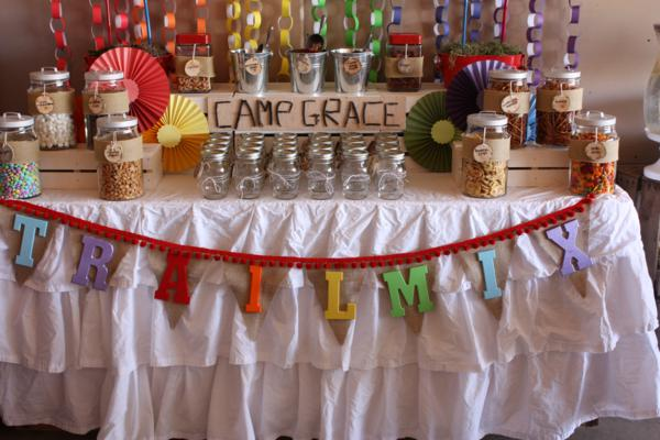 Camp Arts and Crafts Rainbow Party via Kara's Party Ideas | KarasPartyIdeas.com #camp #arts #crafts #rainbow #party #ideas (18)