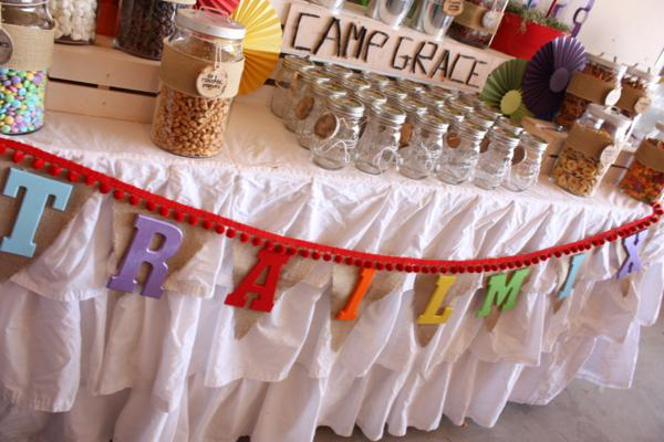 Camp Arts and Crafts Rainbow Party via Kara's Party Ideas | KarasPartyIdeas.com #camp #arts #crafts #rainbow #party #ideas (8)