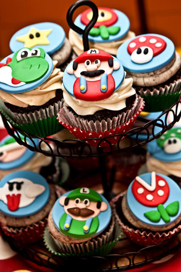 Mario Gamer Party via Kara's Party Ideas | KarasPartyIdeas.com #mario #boy #video #game #gamer #party #ideas (84)