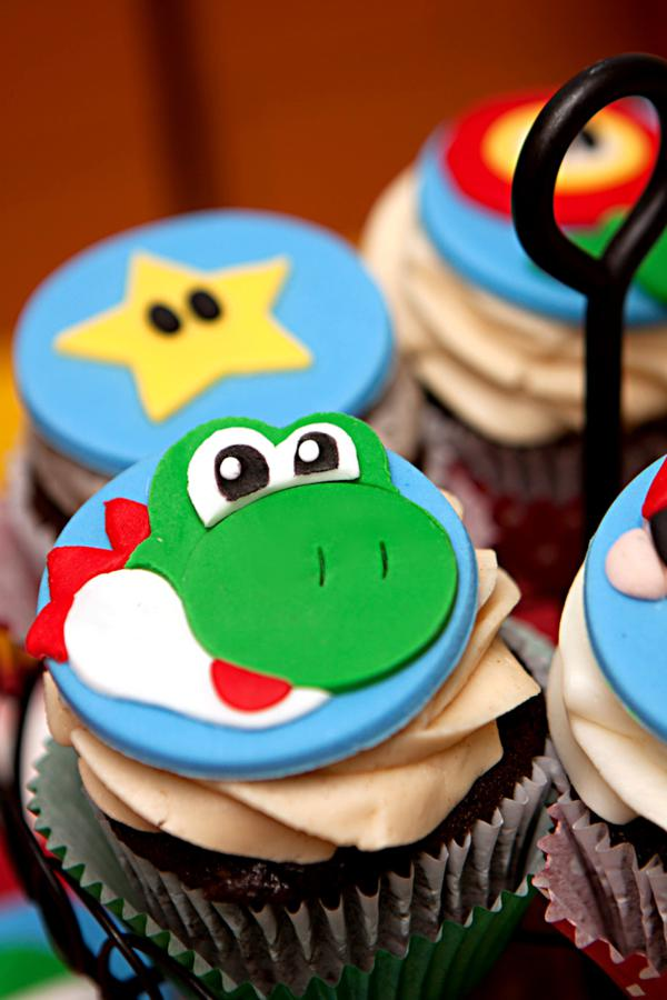 Mario Gamer Party via Kara's Party Ideas | KarasPartyIdeas.com #mario #boy #video #game #gamer #party #ideas (74)
