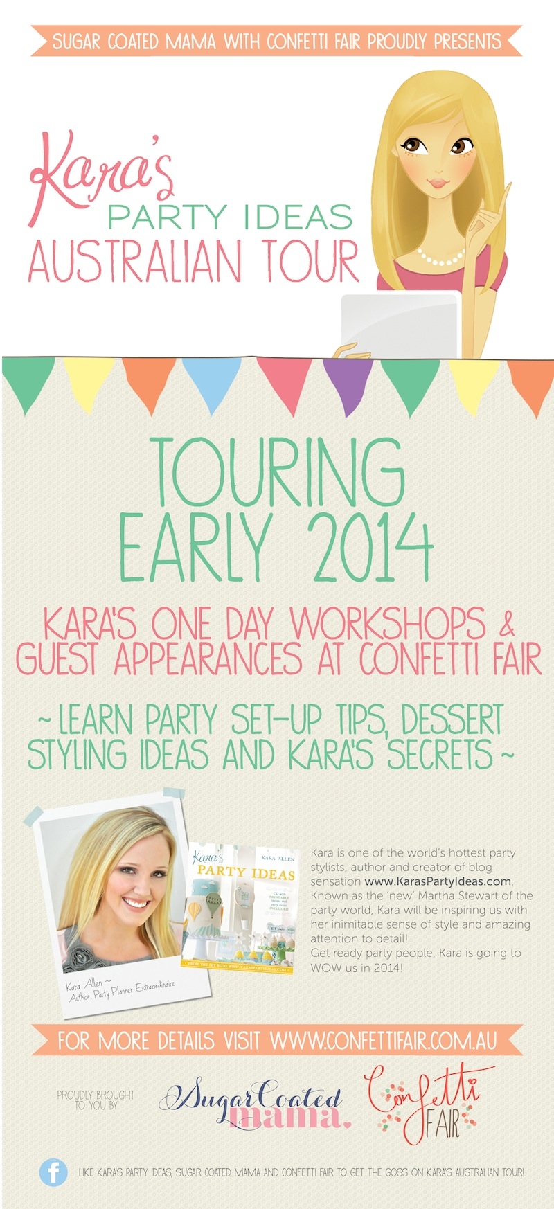 Kara's Party Ideas Australian Tour KPI Conference - Australia 2014 Kara Allen