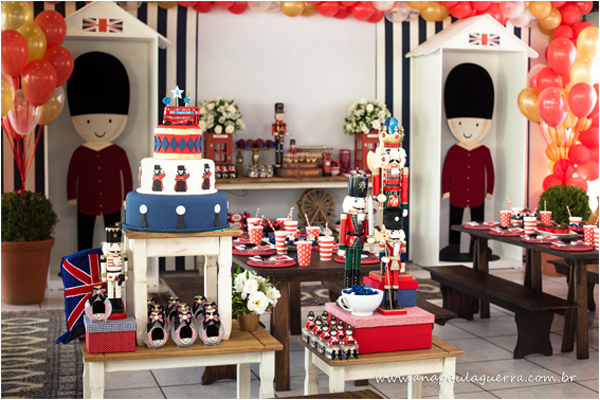 London Birthday Party via Kara's Party Ideas | Kara'sPartyIdeas.com #london #birthday #party (28)