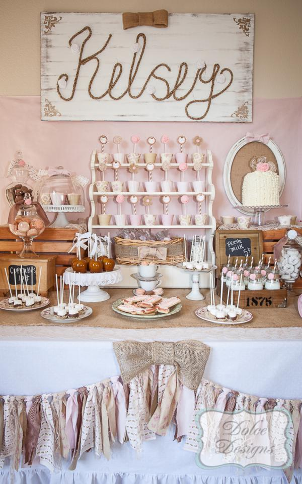 Vintage Cowgirl Party via Kara's Party Ideas | KarasPartyIdeas.com #vintage #cowgirl #farm #birthday #party #ideas (4)