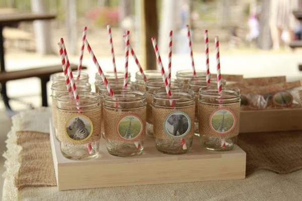 Girly Safari Party via Kara's Party Ideas | KarasPartyIdeas.com #safari #jungle #birthday #party #ideas (27)