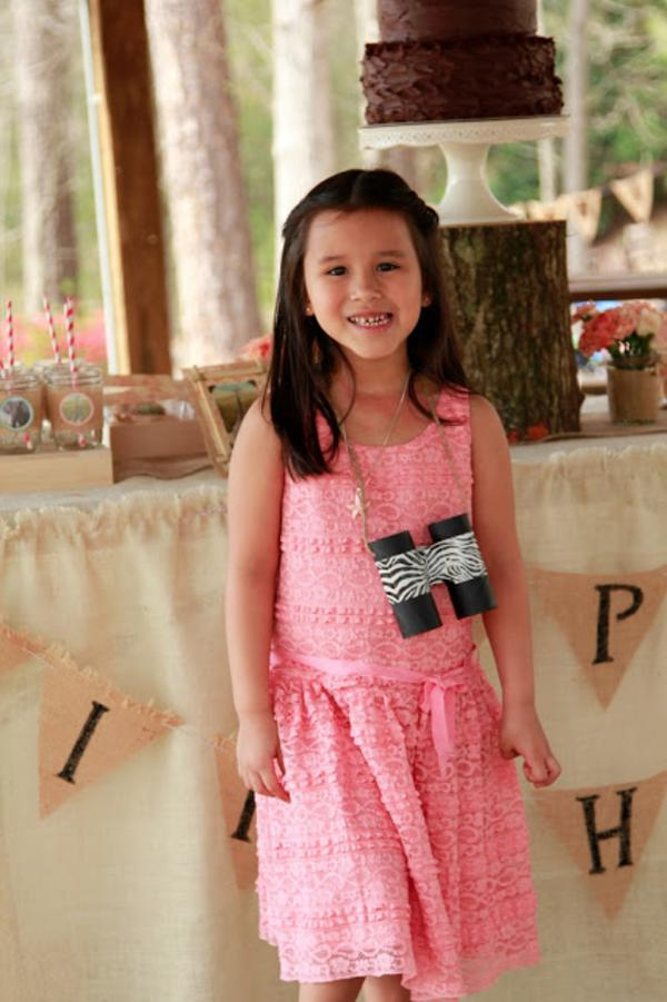 Girly Safari Party via Kara's Party Ideas | KarasPartyIdeas.com #safari #jungle #birthday #party #ideas (8)
