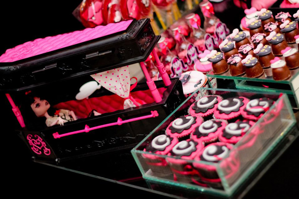 Monster High 8th Birthday Party via Kara's Party Ideas | Kara'sPartyIdeas.com #monster #high #birthday #party (49)
