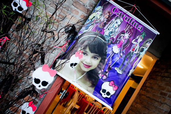 Monster High 8th Birthday Party via Kara's Party Ideas | Kara'sPartyIdeas.com #monster #high #birthday #party (45)