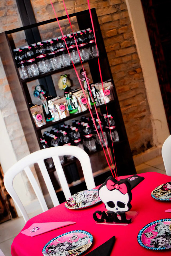 Monster High 8th Birthday Party via Kara's Party Ideas | Kara'sPartyIdeas.com #monster #high #birthday #party (33)